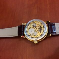 Ceas mecanic Sewor Skeleton auriu, nou!