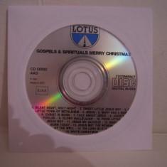 Vand cd audio Gospels &Sprituals Merry Christmas, original, raritate!-fara coperti - Muzica Sarbatori