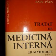 Medicina interna -hematologie (partea 1 / an 1997/944pagini)- Radu Paun