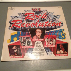 ROCK REVOLUTION - selectii cu E.JOHN, DEL SHANNON..(1971/PICKWICK/ENGLAND)- VINIL - Muzica Rock warner