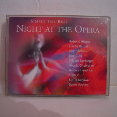 Vand caseta dubla Night At The Opera-Simply The Best, originale, raritate! - Muzica Opera warner, Casete audio