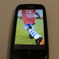 Vand Nokia Lumia 610 - Telefon mobil Nokia Lumia 610, Albastru, Neblocat