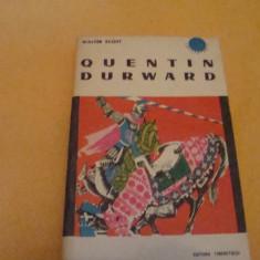Quentin Durward - Walter Scott - 1965 - ed. tineretului - col. Cutezatorii