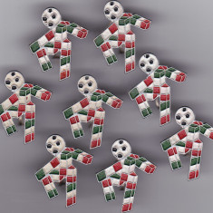 Insigna fotbal - Mascota
