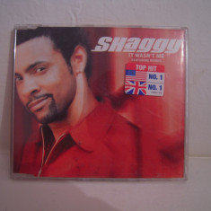 Vand cd audio Shaggy-It Wasn't Time, original, raritate! - Muzica Reggae