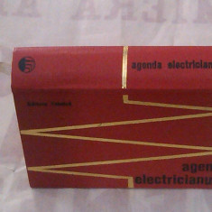 E.PIETRAREANU - AGENDA ELECTRICIANULUI ~ Editia a 2-a, an.1971, format mic ~ - Carti Energetica