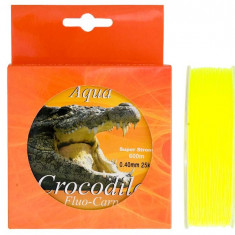 FIR ( GUTA ) Nylon Aqua Crocodile Fluo-Carp 600m - Fir Pescuit