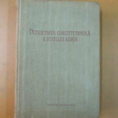 Dezvoltarea constitutionala a statului roman D. Ionescu Gh. Tutui Gh. Matei, Alta editura