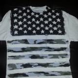 Tricou Ecko Steag USA (Masura L) - Import USA - Tricou barbati, Marime: L, Culoare: Alb, Maneca scurta, Bumbac