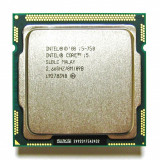 Procesor Intel Quad Core I5 750  2.66Ghz/T 3.20GHz 8Mb Cache,socket 1156, Intel Core i5, 4