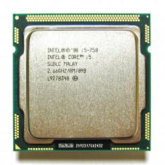 Procesor Intel Quad Core I5 750  2.66Ghz/T 3.20GHz 8Mb Cache,socket 1156, Intel Core i5, 4
