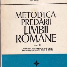 Ion berca - metodica predarii limbii romane, vol II