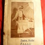 Maria Th. Brebenaru si Her Dumitrescu - Teatru Scolar si Poezii - Ed. 1936 - Ed. Max Kendler - Carte poezie copii