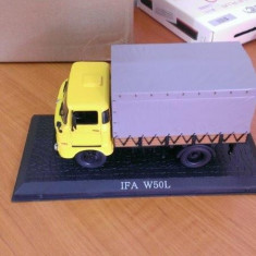 Macheta metal camion 1/43 - IFA W50L  -  colectia Camioane celebre Atlas