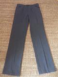 Pantaloni superbi de dama Trussardi originali, Lungi, Gri, 40