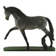 1951.Figurina din rasina pictata manual - Colectia RASE DE CAI - ANDALUZ, Peste 12 ani