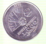 Moneda 1000 escudos Portugalia 1998 argint