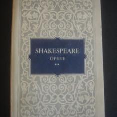 SHAKESPEARE - OPERE 2 * RICHARD II * NEGUTATORUL DIN VENETIA * IULIU CEZAR