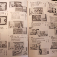 CATALOG BANCNOTE-WORLD PAPER MONEY-1961-PRESENT. CUHAJ-EDITIA-16