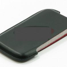 Toc piele lateral Slim Up compatibil Nokia N8 - Husa Telefon Nokia, Negru, Husa