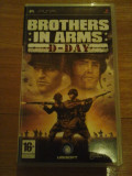 JOC PSP BROTHER IN ARMS D-DAY ORIGINAL / STOC REAL / by DARK WADDER, Shooting, 12+, Single player, Ubisoft