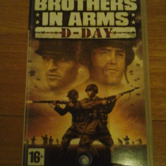 JOC PSP BROTHER IN ARMS D-DAY ORIGINAL / STOC REAL / by DARK WADDER - Jocuri PSP Ubisoft, Shooting, 12+, Single player