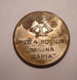 Medalie Regimentul 4 Rosiori Regina Maria - Recunostinta Eroilor 1916 1919