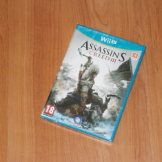 Joc Nintendo Wii U - Assassin's Creed III , nou , sigilat, Actiune, 18+