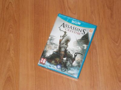 Joc Nintendo Wii U - Assassin's Creed III , nou , sigilat foto