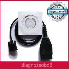Interfata diagnoza OBD2 OBD-II Diagnostic VAG COM KKL 409 serial RS232