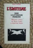 Rene Varrin L'EROTISME DANS LA LITTERATURE FRANCAISE 1970