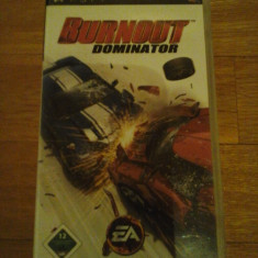JOC PSP BURNOUT DOMINATOR ORIGINAL / STOC REAL / by DARK WADDER - Jocuri PSP Electronic Arts, Curse auto-moto, 12+, Single player