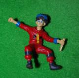 Figurina, jucarie, cauciuc tare, Bakugan, Dan Kuso, anime desen animat, 9x9 cm