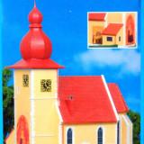 Biserica in Chiemgau, Kibri HO 9763, Scara HO(1:87) - Macheta Feroviara Alta, Accesorii
