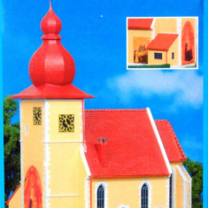 Biserica in Chiemgau, Kibri HO 9763, Scara HO(1:87)