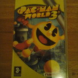 JOC PSP PAC-MAN WORLD 3 ORIGINAL / STOC REAL / by DARK WADDER