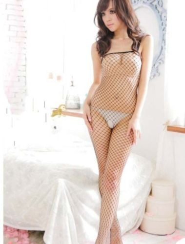 Lenjerie Lady Lust Sexy 131 Ciorapi Bodystocking Fishnet Open Crotch Stocking