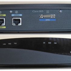 CISCO 800 MODEL 805 - Router Cisco, Porturi LAN: 1, Porturi WAN: 1
