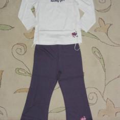 Noi! Pijama de bumbac super, marca VETI, fetite 4 ani, Marime: Alta, Culoare: Multicolor, Fete