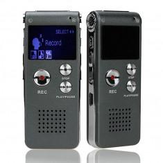 Reportofon cu acumulator Digital Profesional 8 GB - 650 ORE !!! CUTIE !!! - Gadget supraveghere