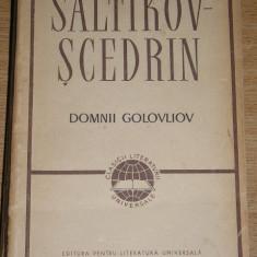 CLUV - DOMNII GOLOVLIOV - SALTIKOV SCEDRIN - EDITATA IN 1963 - Roman