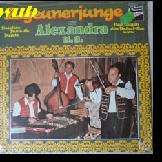 Zigeunerjunge cu Alexandra-muzica populara tiganeasca cu Alexandra; disc vinil/vinyl ZEBRA, Germany 0691.561; stare impecabila! - Muzica Lautareasca