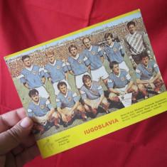 Poza Iugoslavia - Campionatul Mondial Italia 1990, poza echipa Yugoslaviei