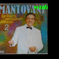 Mantovani, Ein Klang verzaubert millionen 2, disc vinil/vinyl DECCA, GERMANY, S 16 6363-P; stare impecabila - Muzica Clasica