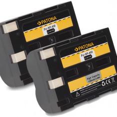 A PATONA | 2 Acumulatori compatibili Minolta NP-400 NP 400 NP400 - Baterie Camera Video