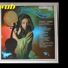Yoska Gabor si orchestra sa, Frenesie tzigane, disc vinil/vinyl BARCLAY, FRANCE, 920 030 - Muzica Lautareasca