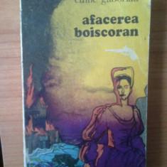 J Emile Gaboriau - Afacerea Boiscoran - Roman, Anul publicarii: 1975