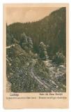 1617 - COLIBITA, Bistrita Nasaud, railway - old postcard - used - 1928