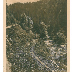 1617 - Bistrita Nasaud, COLIBITA, railway - old postcard - used - 1925