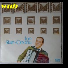 Ion Stan Onoriu la acordeon, disc vinil/vinyl Electrecord, ST-EPE 01678; stare foarte buna - Muzica Lautareasca